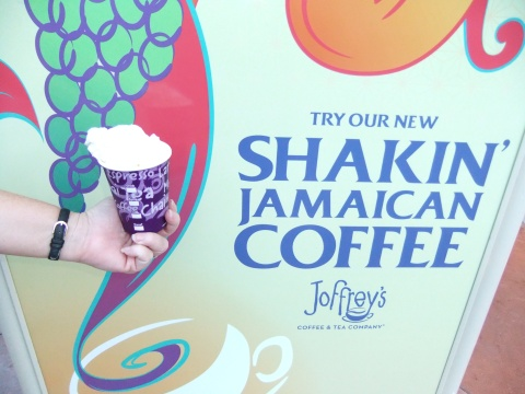 Spiked Jamaican Coffee... available hot or frozen... ja mon!