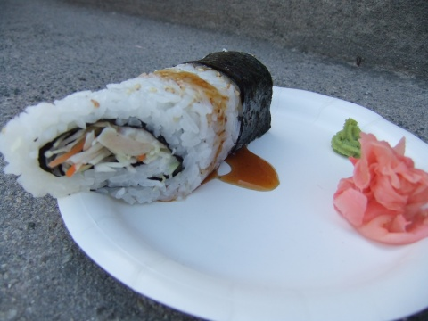 Teriyaki Chicken Hand Roll