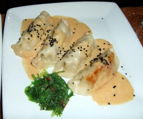 Pork and Vegetable Pot Stickers