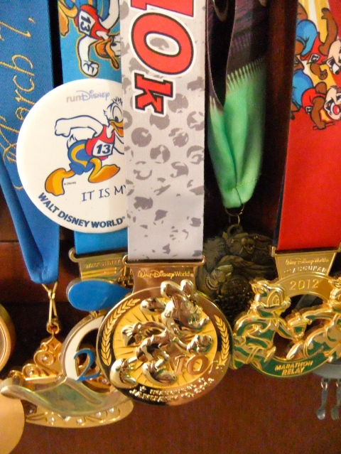 New Minnie medal in the middle
