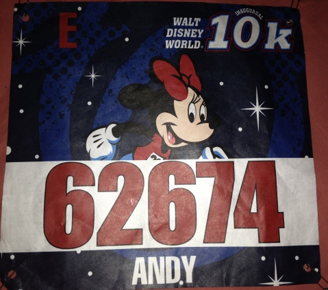 Bib from new 10k race