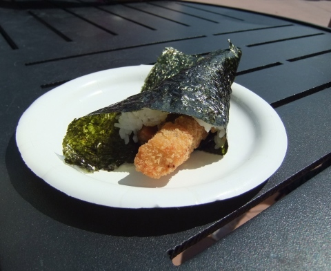 Temaki Chicken Hand Roll