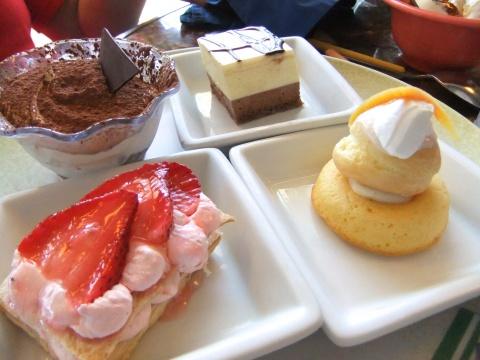 Just desserts...