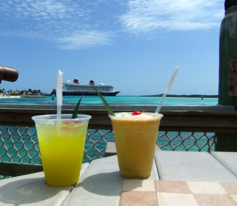 Enjoy a beverage and the view...