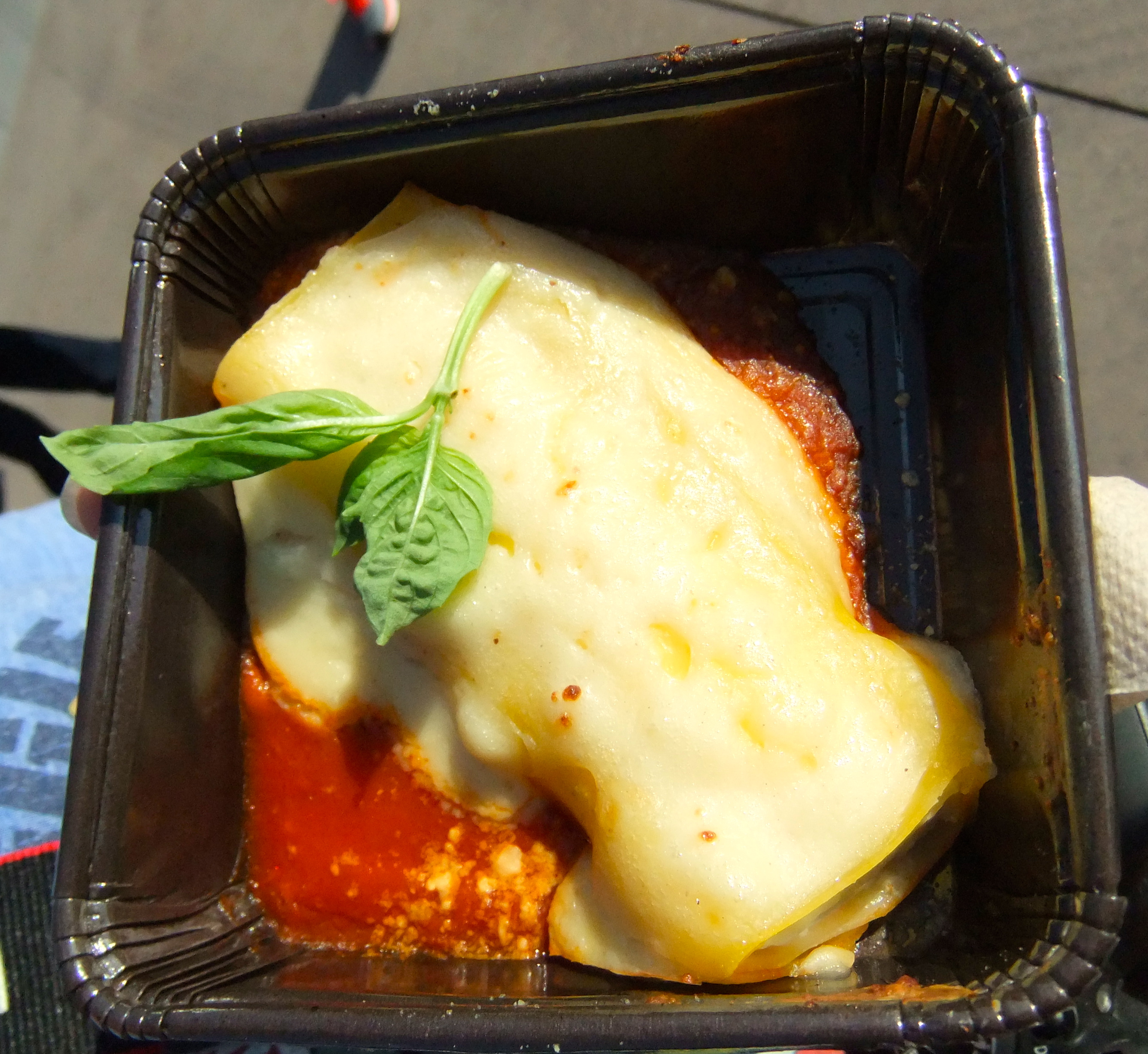 Three Cheese Manicotti from Primavera Kitchen