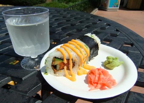 Sushi (and sake!)
