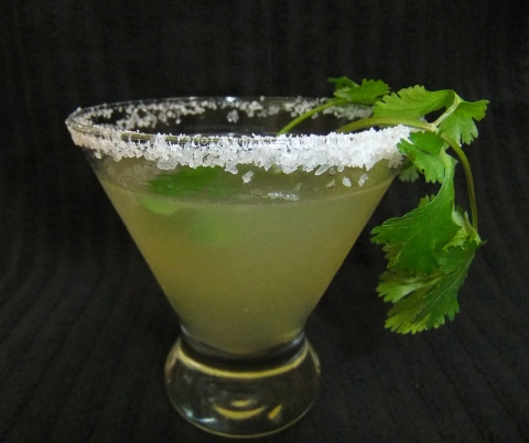 Sweet Heat Cilantro Margarita