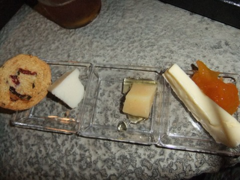 The Cheese Koisk is a no-show this year, but there will be a all-new Cheese Plate at Hops & Barley...