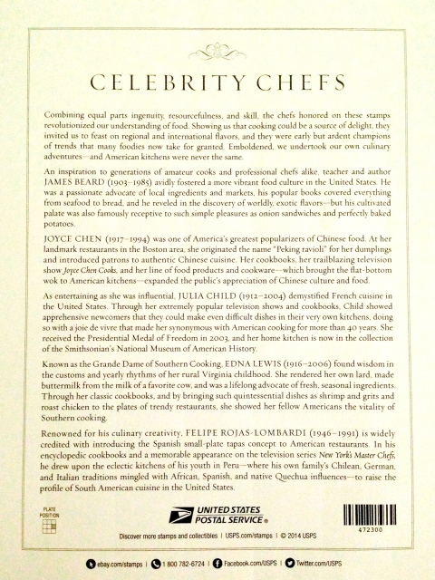 The backside of Celebrity Chefs