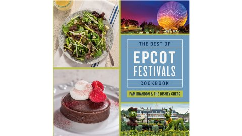 Cover of new Epcot Festival Cookbook - photo from the Disney Parks Blog
